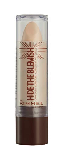 Rimmel London Correttore Hide The Blemish, Stick Copri Occhiaie, Rossori e Imperfezioni, 103 Soft Honey, 4.5 g