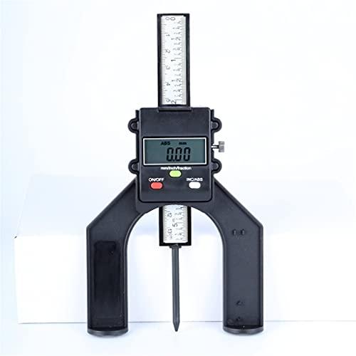 SLATIOM 0-130mm Calibre de Altura Digital Sierra de Mesa de 80 mm de Profundidad 3 Unidades Pulgadas/mm/fracción de Bloqueo Enrollable enrutador de Madera Herramientas