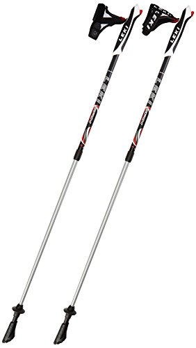 Leki Spin Nordic Walking Stick - Black, 39.3-51.1inch