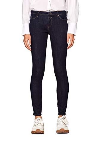 edc by ESPRIT Damen 998CC1B823 Jeans, Blau (Blue Rinse 900), W28/L32 (Herstellergröße: 28/32)