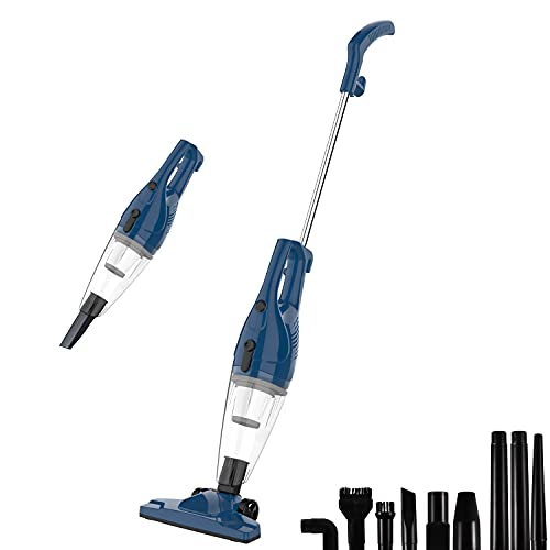 TC-JUNESUN Corded Upright Vacuum Stick Cleaner Lightweight Bagless for Home...