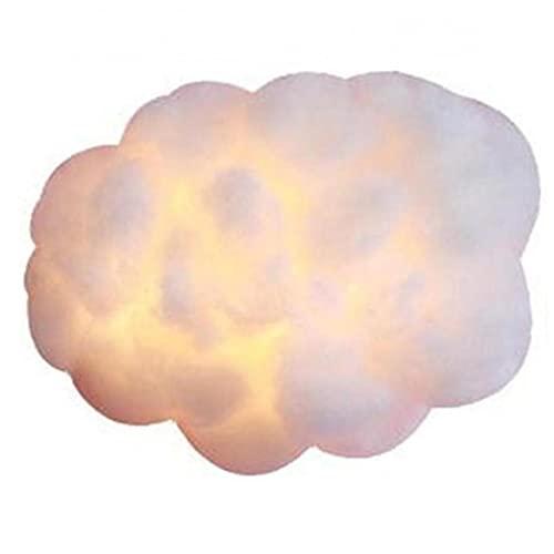 Nube De Algodón De Seda Lámparas Luces Colgantes Sala De Estar Dormitorios Decoración Niños Lámparas Led De Accesorios De Muchachas De Los