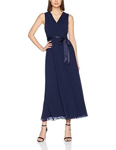 Dorothy Perkins Holly Maxi Vestido, Azul (Marino), 34 para Mujer