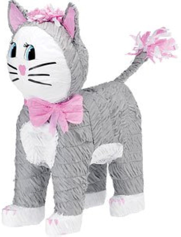 Grey Cat Piata  46cm tall