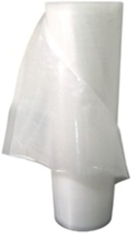 2 - 15 x50' Vacuum Sealer Rolls - Embossed Channel Vacuum Bag Rolls