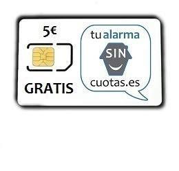 Tarjeta SIM Prepago con 5€Gratis, Multiformato y va con el Pin borrado/eliminado | con Recarga Automática Opcional | para Alarmas, Relojes, localizadores,etc | gsm 2G/3G/4G | Llamadas | SMSs | Datos