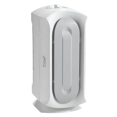 Hamilton Beach 04383A Air Purifier, Allergen Reducing Air Cleaner with Permenant HEPA Filter, TrueAir Ultra Quiet, White