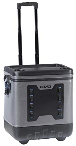 Evolution Outdoor EVO Leak Resistant 50qt Premium Rolling Cooler with Wheels