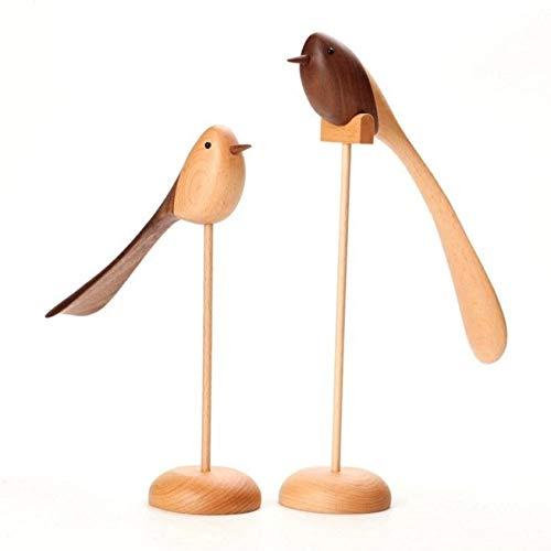 YAzNdom Eenvoudige originele houten vogel, woonkamer TV kast decoratie, decoratie thuis