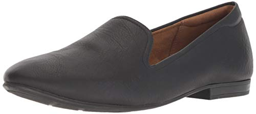 SOUL Naturalizer Women's Alexis Flat Loafer, Black, 10