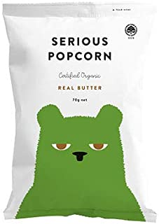 Serious Foods Popcorn - Real Butter, 70 g