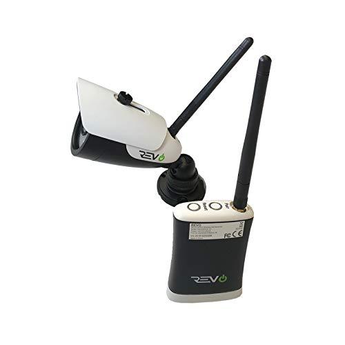 REVO America Aero HD 720p Wireless Indoor/Outdoor IR Bullet Security Camera & Receiver (RACWBS30-1)