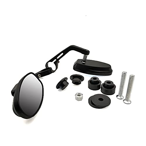 Set Specchietti Moto Specchietto Retrovisore Universale Per Manubrio Da 7/8'per BMW R1200GS R1200GS ADVENTURE R1200R R1200RT SE R1200S K1200R (Color : Red)