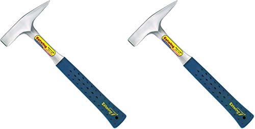 Estwing Tinner's Hammer - 18 oz Metalworking Tool with Forged Steel Construction & Shock Reduction Grip - T3-18 2 Pack