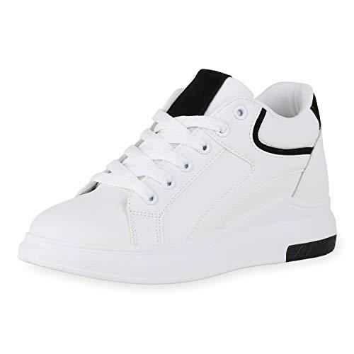 SCARPE VITA Dames Sneaker Wedges Pruik Schoenen Veters