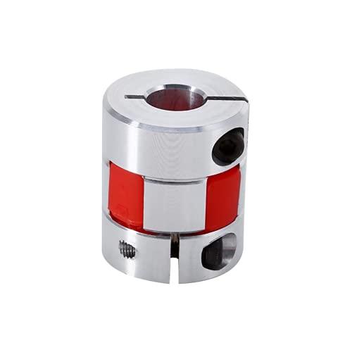 Codificador de acoplamiento industrial, componentes de control industrial, codificador de acoplamiento de ciruela flexible de 0,3 x 0,4 pulgadas, para conectar el motor paso a paso del