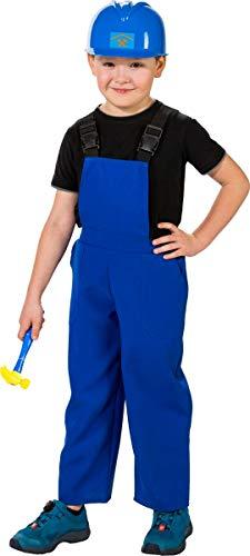 Orlob Kinder Kostüm Latzhose blau Karneval Fasching Gr.128