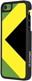 Slickwraps Flag Series the Case for iPhone 5 & 5s - Jamaica - Carrying Case - Retail Packaging - Jamaica