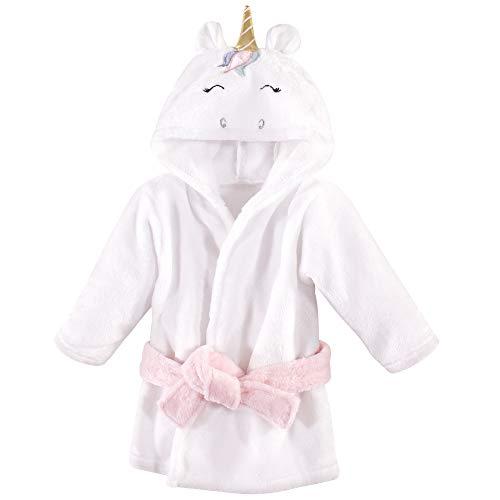 Hudson Baby - Albornoz unisex para bebé, diseño de unicornio multicolor, 0-9 meses