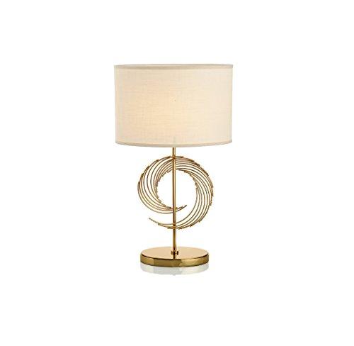 JPVGIA Desk Lamp Postmodern Minimalist Soft Designer Table Lamp Luxury Villa Model Bedroom Bedside Table Light