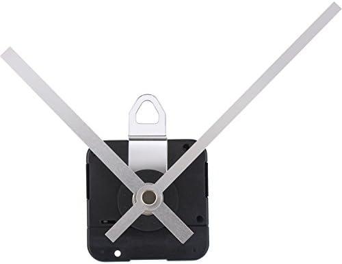 Mudder 31 mm Long Shaft Quartz Clock Movement DIY Clock Repair Kit (Black)