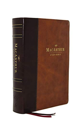 ESV MacArthur Study Bible, 2nd Edition, The, Leathersoft, Brown: Unleashing God's Truth One Verse at a Time