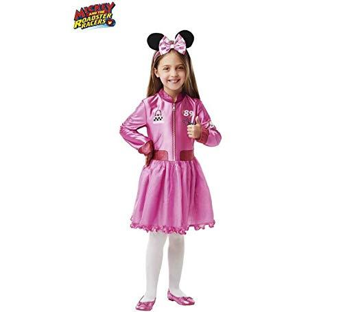 Disney - Disfraz de Minnie Mouse rosa oficial para nia, infantil 1-2 aos (Rubie's 640906-T)