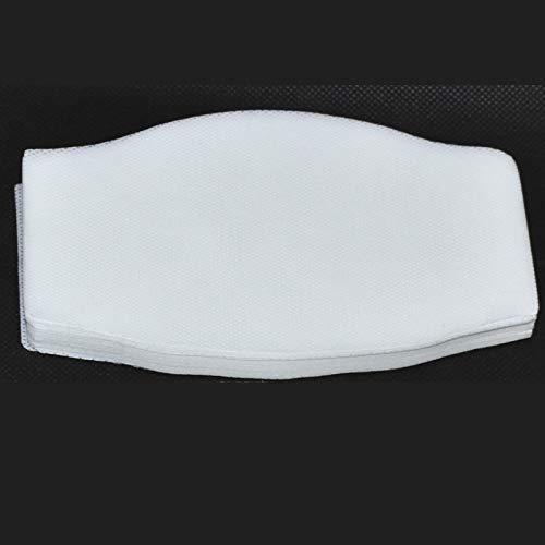 Filtro TNT Grande para mascarilla 16x9.5cm. Muy transpirable, hidrofugo.50 capas de tejido no tejido de 70gr