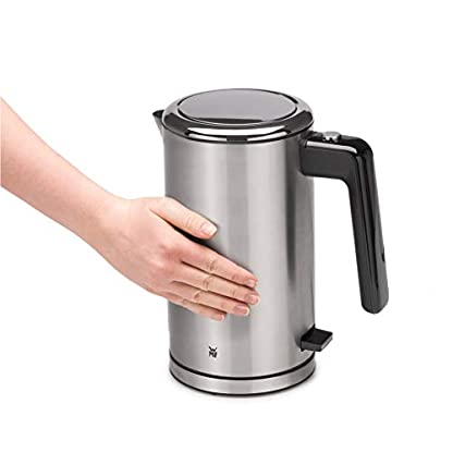 WMF-Lono-Wasserkocher-doppelwandig-2400-Watt-13-l-Safety-Touch-innenliegende-Wasserstandanzeige-Kalk-Wasserfilter-cromargan-mattsilber