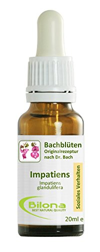 Joy Bachblüten, Essenz Nr. 18: Impatiens; 20ml Stockbottle