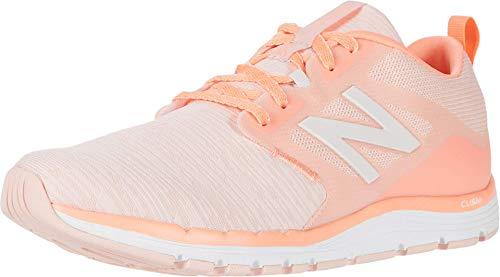 New Balance Damen 577 V5 Crosstrainer, Pink (Pfirsich Soda/Ginger Pink/Leinen Nebel), 35 EU