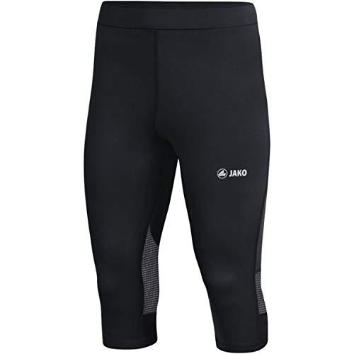 JAKO - Running-3/4-Hosen für Jungen in schwarz, Größe 164
