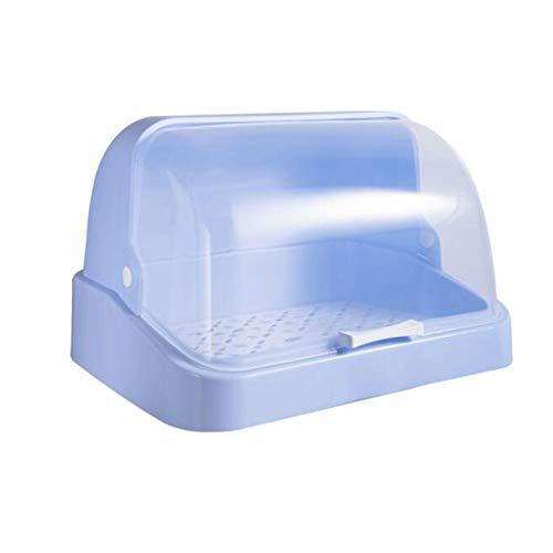 YANGYUAN Estante de cocina con estante para almacenamiento de plato para tapa, estantería de tazón de drenaje multifuncional, caja de almacenamiento de vajillas, armario de encimera de talladora de pl