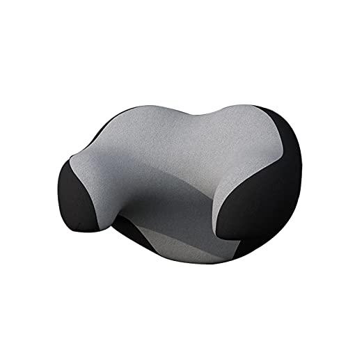 Qagazine Almohada de reposacabezas en forma de U en forma de U de viaje almohada de apoyo para el cuello del coche reposacabezas Cojín suave de enfermería Accesorios de viaje