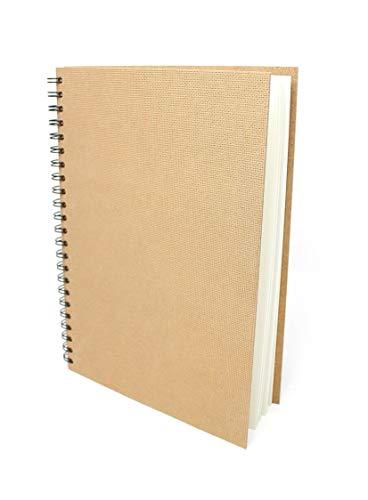 Artway Enviro - Skizzenbuch mit Spiralbindung - 100% Recycling-Zeichenpapier - Hardcover - 35 Blatt mit 170 g/m² - A4 Hochformat
