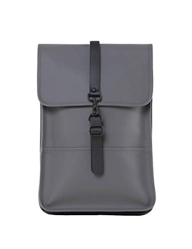 RAINS Backpack Mini Mochila, Mujer, Charcoal, Talla Única