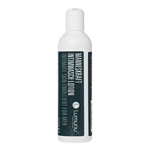Deluxe Intim Waschlotion für Ihn MANNESKRAFT (250ml), sanft reinigendes & pflegendes Dusch- & Intimgel für Männer, von Venize