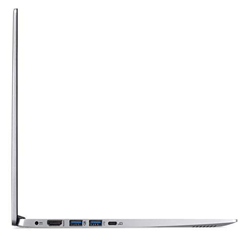 "Acer Swift 5 Ultra-Thin & Lightweight Laptop 15.6"" FHD IPS Touch Display in a thin .23"" bezel, 8th Gen Intel Core i5-8265U, 8GB DDR4, 256GB PCIe NVMe SSD, Back-lit Keyboard, Windows 10, SF515-51T-507P"