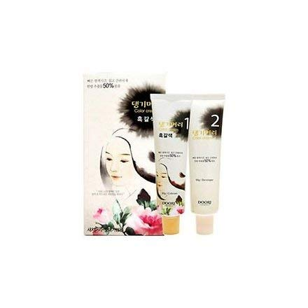 Daeng Gi Meo Ri Medicinal Herb Hair Color to cover gray hair (Dark...