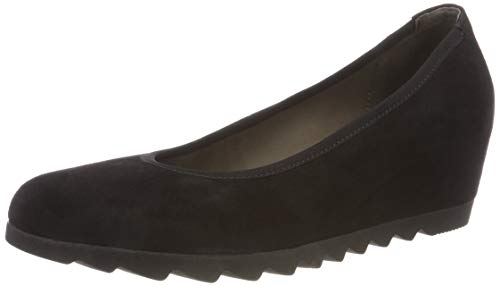 Gabor Shoes Damen Basic Pumps, Schwarz 17, 37 EU