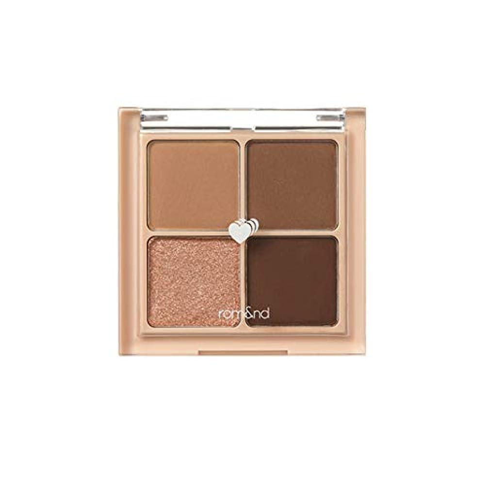 歯基本的な感謝しているrom&nd BETTER THAN EYES Eyeshadow Palette 4色のアイシャドウパレット # 3 DRY ragras(並行輸入品)