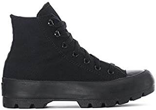 Lugged Chuck Taylor Women's Boots, Black/Black