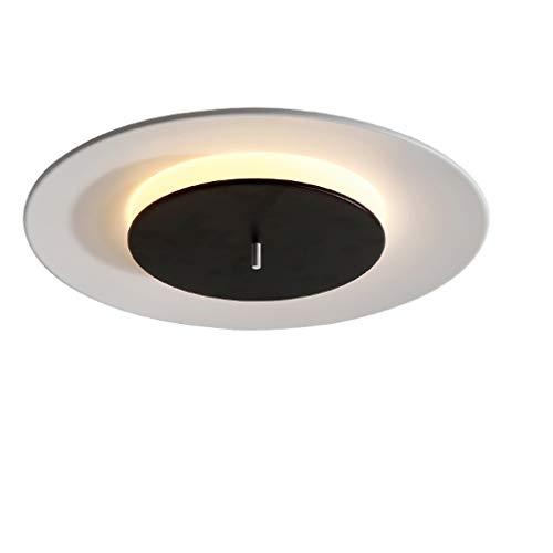 Lámparas de techo rústicas Lámpara de techo redonda moderna UFO Lámpara de habitación redonda for el hogar Lámpara de dormitorio nórdica LED for cocina Sala de estar Pasillo y más Lámpara de techo Far