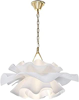Red Chandelier Romantic red Flowers Pendant Light Shade