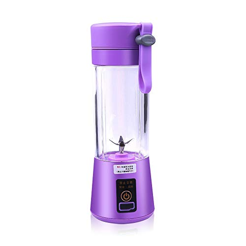Great Deal! 380ml USB Rechargeable Portable Blender Smoothie Mixer 6 Blades Juicer Citrus Lemon Vege...