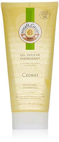 Roger & Gallet, bagno doccia fresco, al cedro, 200 ml [etichetta in lingua italiana non garantita]
