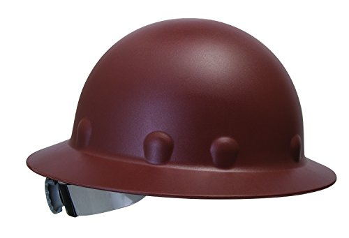 Fibre-Metal by Honeywell P1ARW12A000 Roughneck Full Brim Hard Hat with Strip-Proof and Crack-Proof...