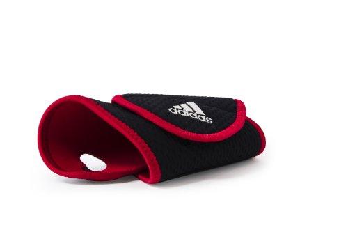 adidas Bandage Wrist Support, schwarz-rot, ADSU-12218