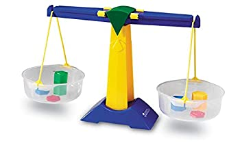 Learning Resources Pan Balance Jr Science Class Experiments Measurement Tool Ages 3+