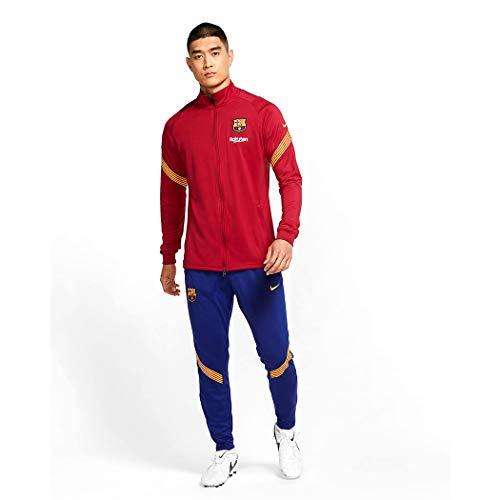 Nike Herren FCB M NK Dry Strk TRK Suit K Trainingsanzug, rot/rot, S